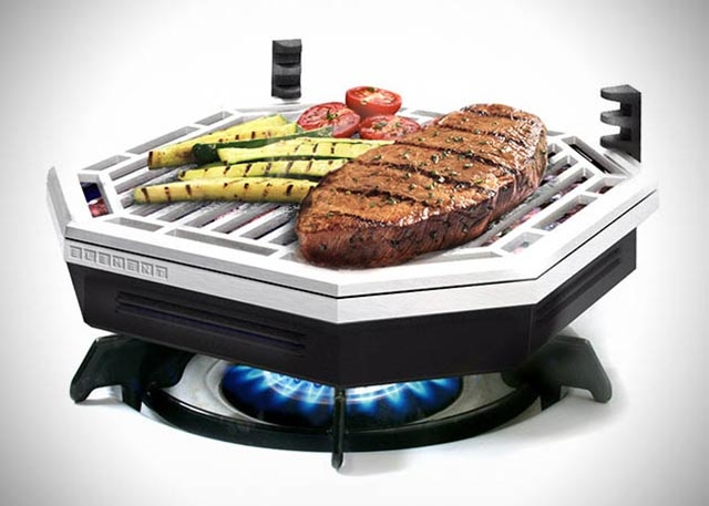 Element Indoor Smokeless BBQ Grill by Joshua Brassé