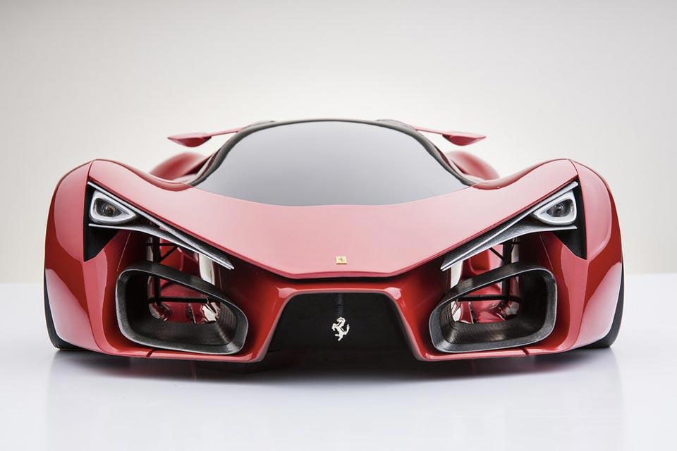 Ferrari F80 Supercar Concept by Adriano Raeli 1