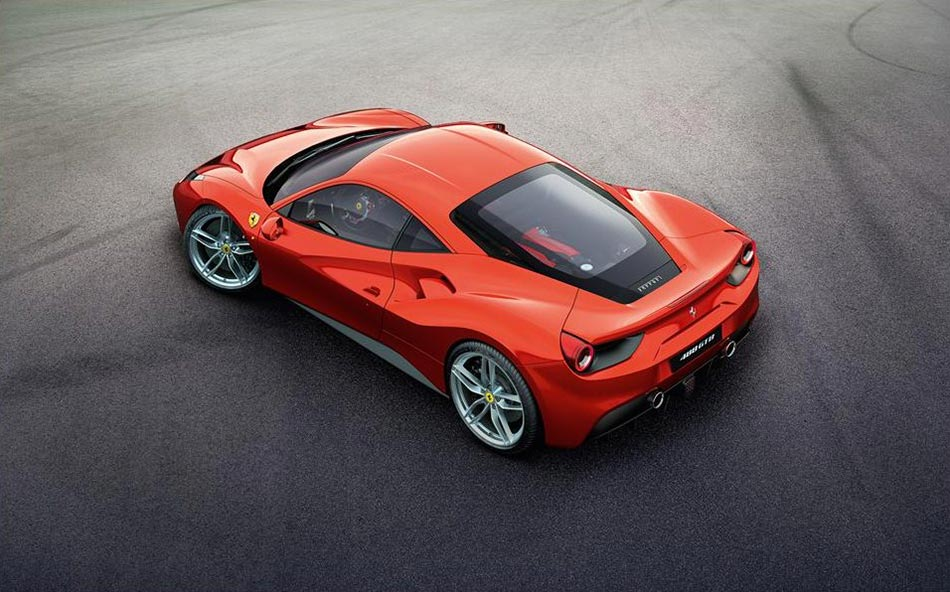 Endlich: Ferrari stellt den 488 GTB Turbo V8 mit 670PS vor 2