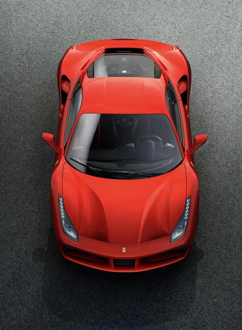 Finally: Ferrari presents the 488 GTB Turbo V8 with 670PS 4