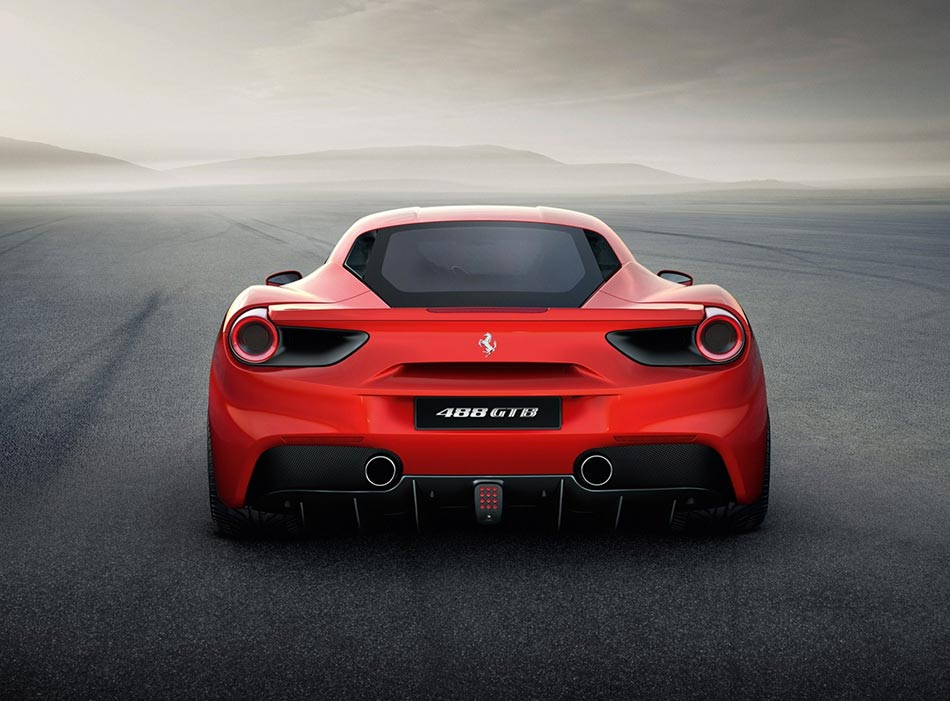 Finally: Ferrari presents the 488 GTB Turbo V8 with 670PS 5