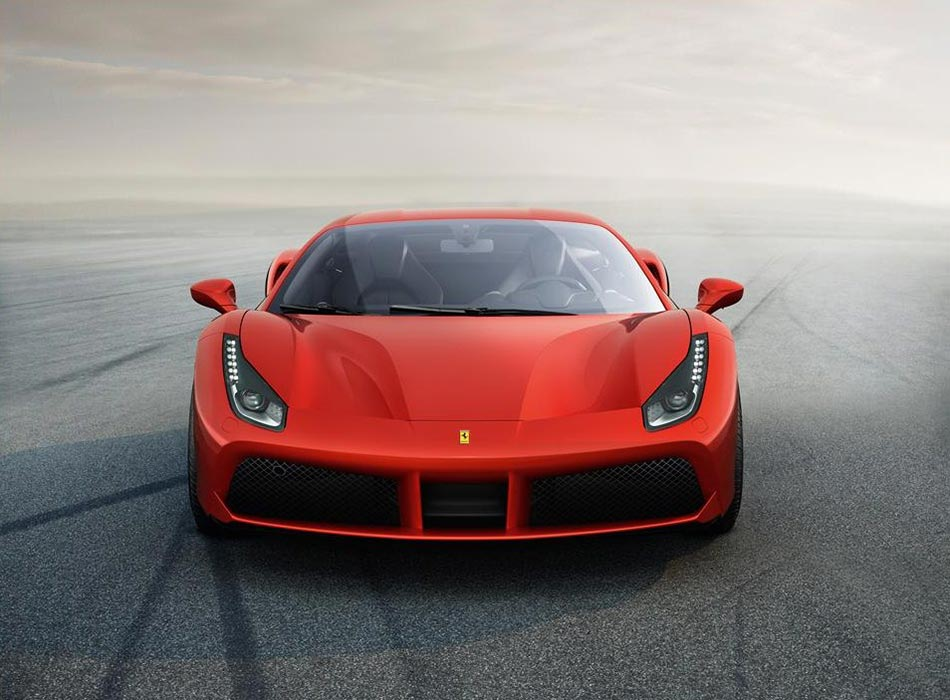 Finally: Ferrari presents the 488 GTB Turbo V8 with 670PS 6