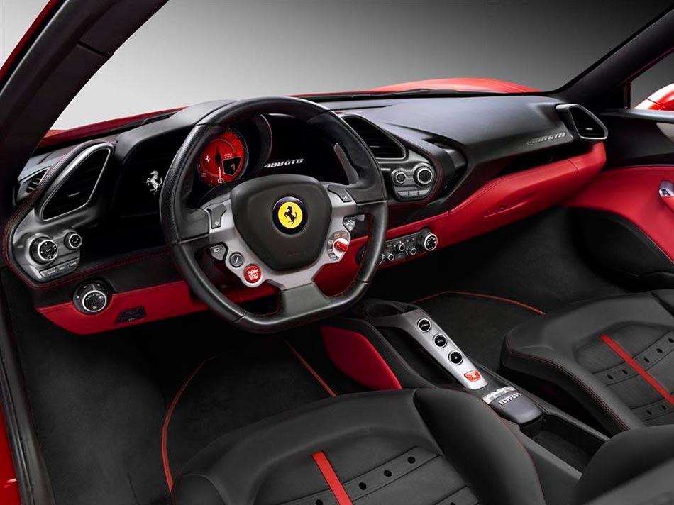 Finally: Ferrari presents the 488 GTB Turbo V8 with 670PS 7