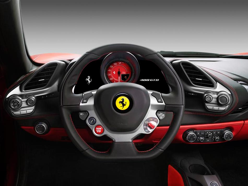 Finally: Ferrari presents the 488 GTB Turbo V8 with 670PS 8