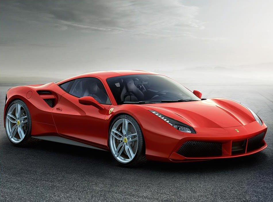 Finally: Ferrari presents the 488 GTB Turbo V8 with 670PS 1