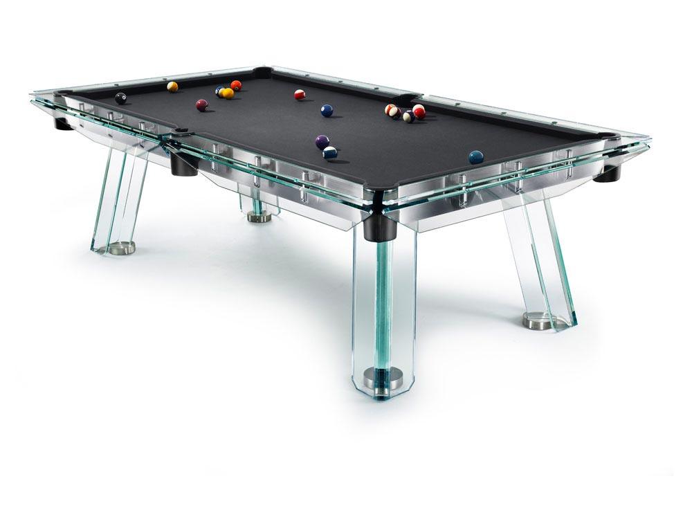Crystal Pool Table Filotto von Calma e Gesso 8