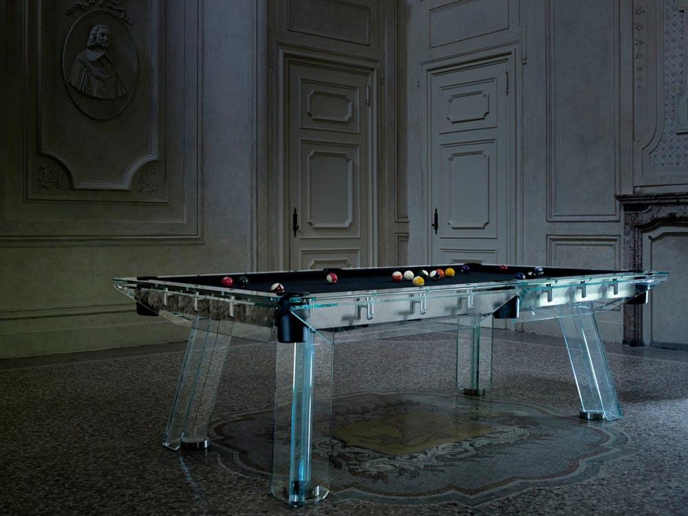 Crystal Pool Table Filotto von Calma e Gesso 5