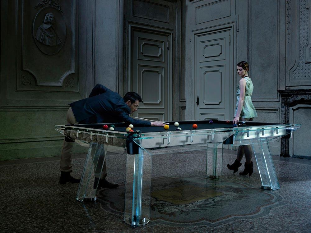 Crystal Pool Table Filotto von Calma e Gesso 1