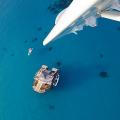 Ein wahrgewordener Traum: Schwimmende Bar Cloud9 x Fiji