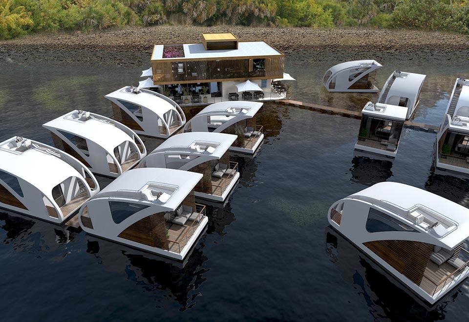 Das Floating Hotel von Salt & Water 7