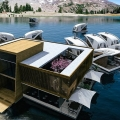 Das Floating Hotel von Salt & Water