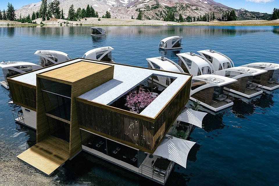 Das Floating Hotel von Salt & Water 1