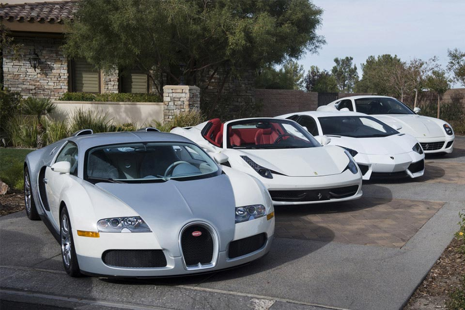 Floyd Mayweather's Car Collection 2