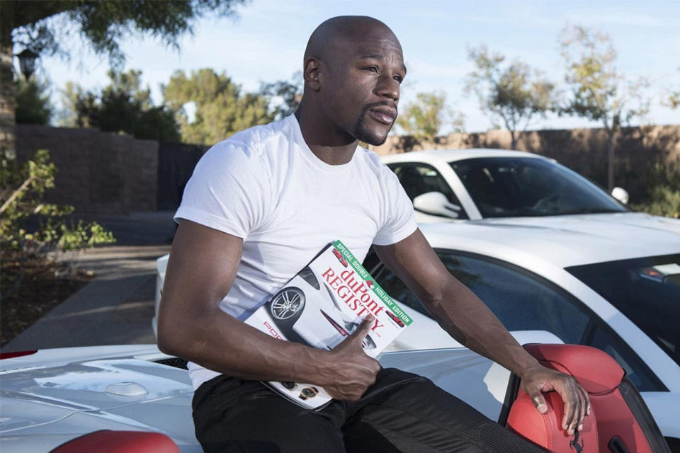 Floyd Mayweather's Car Collection 4