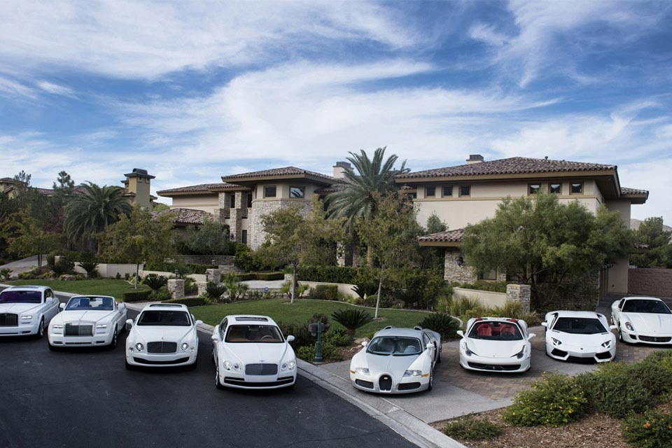Floyd Mayweather's Car Collection 1