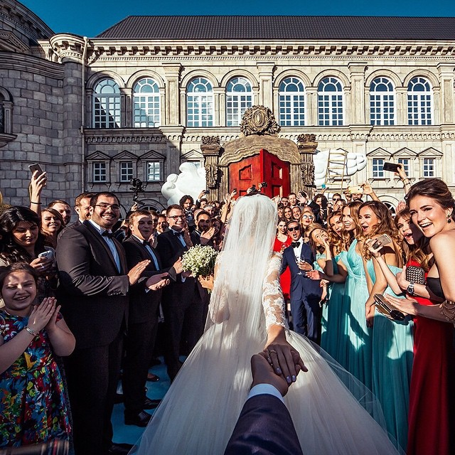 #FollowMeTo Murad Osmann finally got married 2
