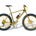 Gold Mountain-Bike by The House of Solid Gold and Veloworx Bicycles