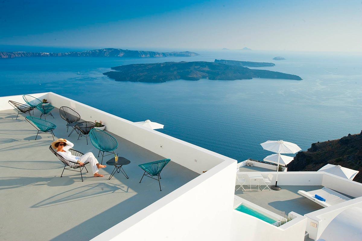 Exklusives Boutique Hotel: Grace in Santorini, Greece 2