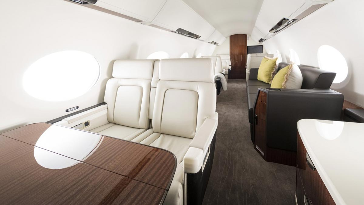 Gulfstream Introduces Two New Private Jets 2