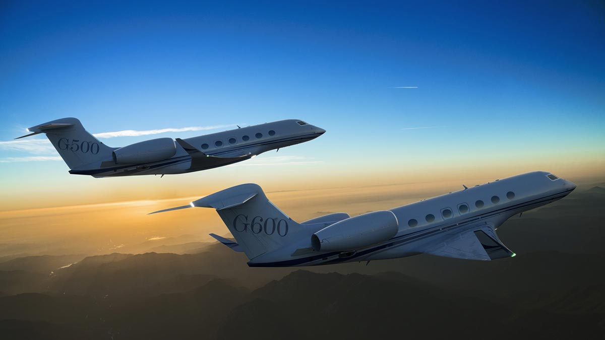 Gulfstream Introduces Two New Private Jets 1