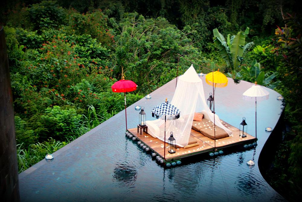 Im Regenwald Hängende Gärten In Ubud Bali Mrgoodlife