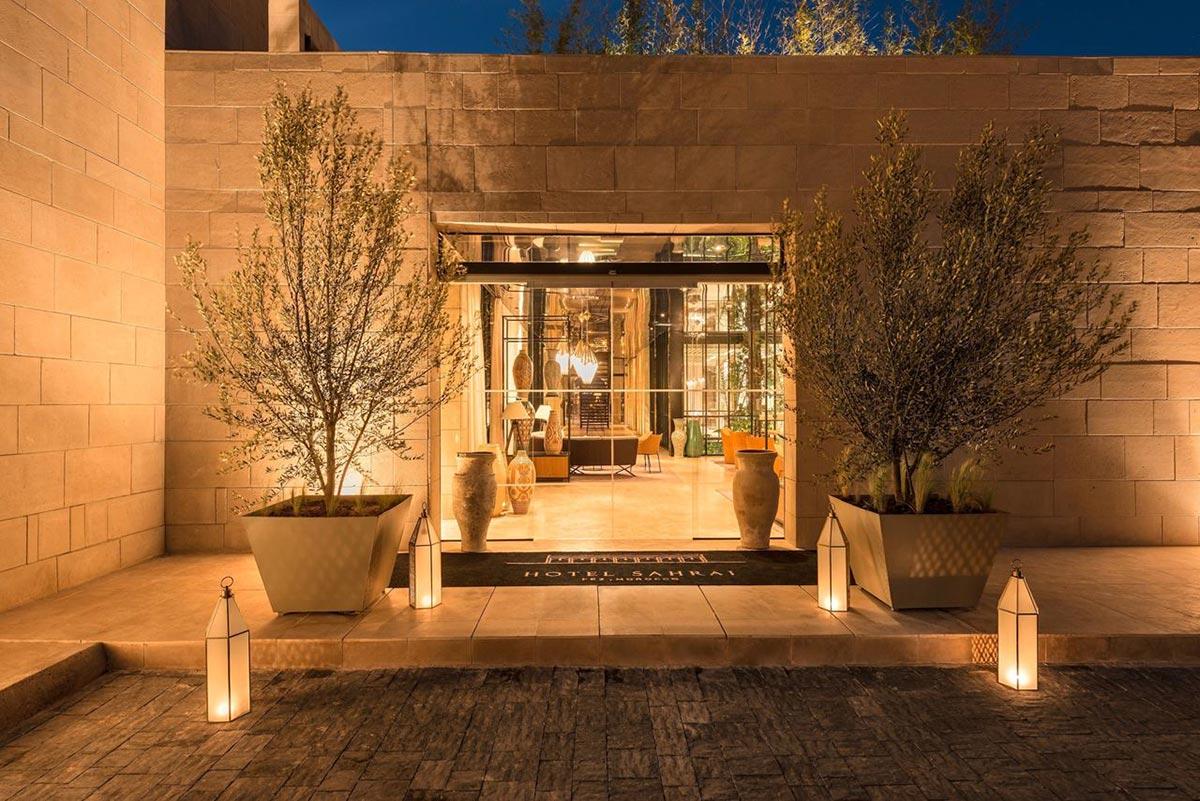 Traditional and contemporary: The Hotel Sahrai Morocco 21