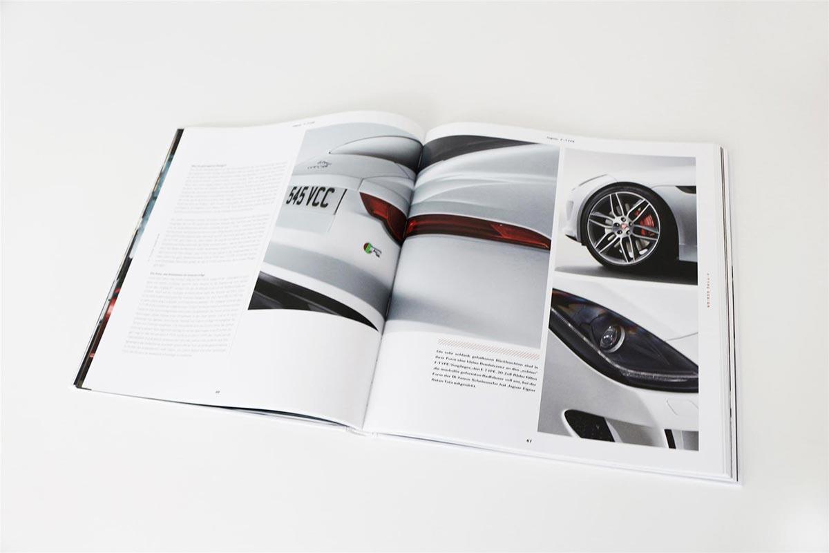 Gewinne ein exklusives Jaguar F-Type Buch 4