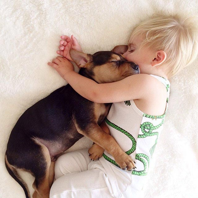 Napping with baby Beau by Jessica Shyba 2