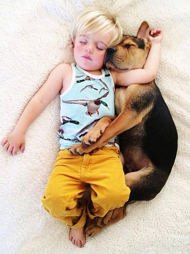 Napping with baby Beau by Jessica Shyba 11