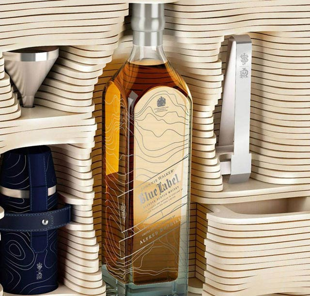 Johnnie Walker and Alfred Dunhill: Limited Edition Trunk 2