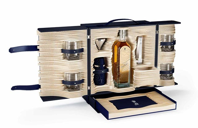 Johnnie Walker and Alfred Dunhill: Limited Edition Trunk 1