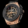 Kobe Bryant presents his Hublot King Power Black Mamba