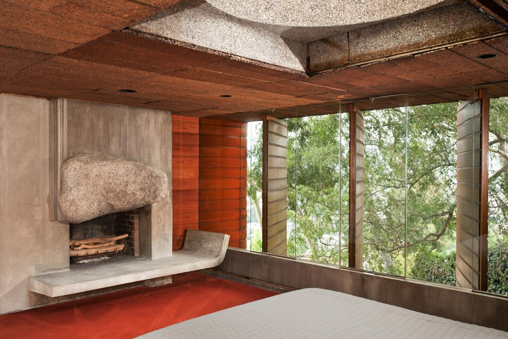 L.A. Silvertop House Designed by John Lautner for Sale 8
