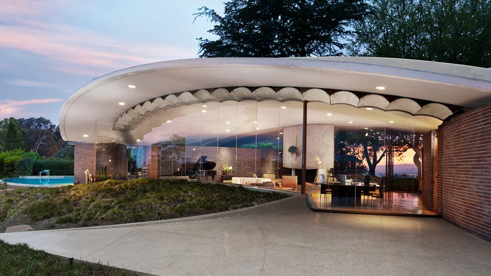 L.A. Silvertop House Designed by John Lautner for Sale 1