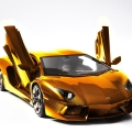 Lamborghini Carves the Most Expensive Model Car x Gold