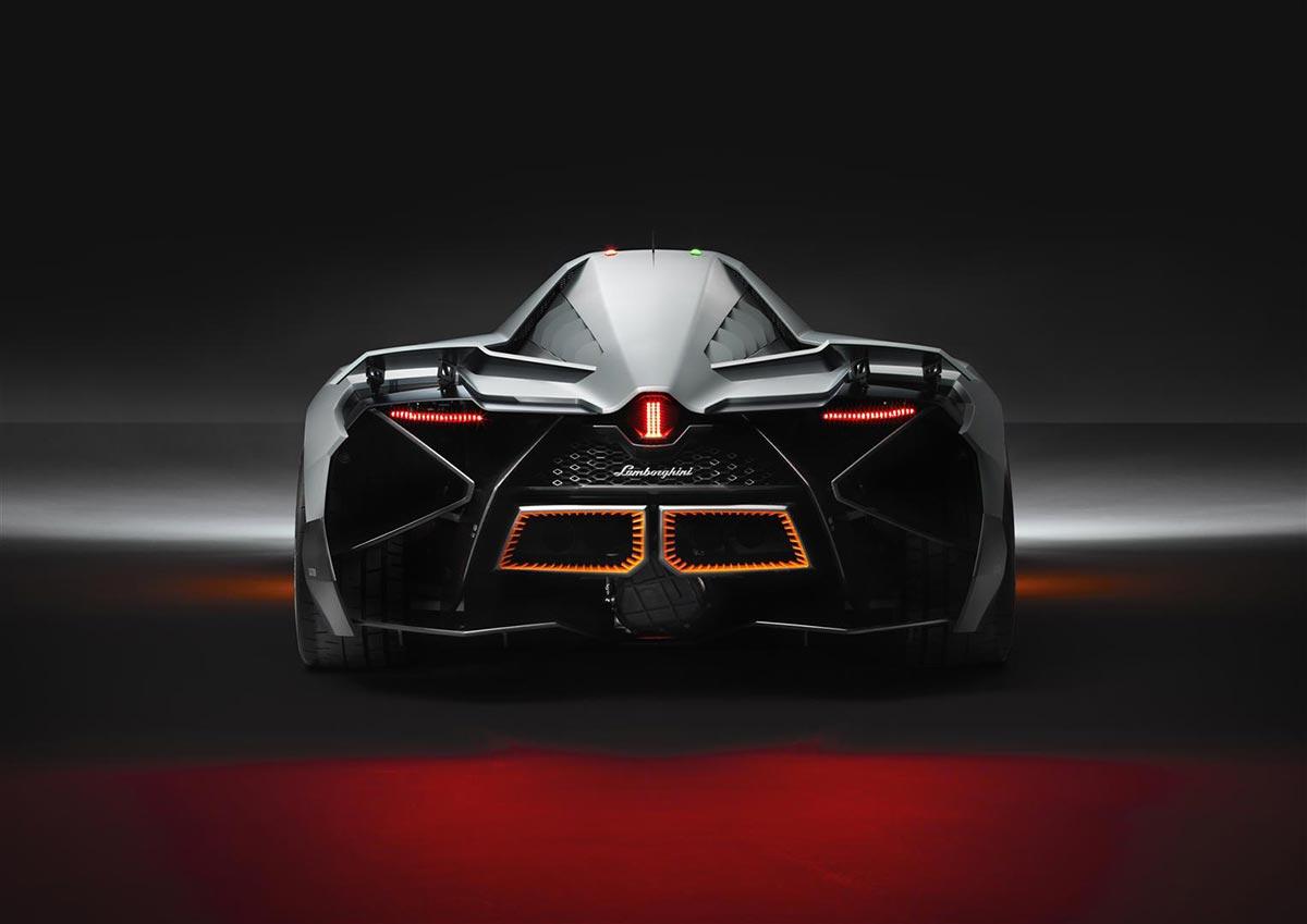 Lamborghini Egoista Concept Car 3