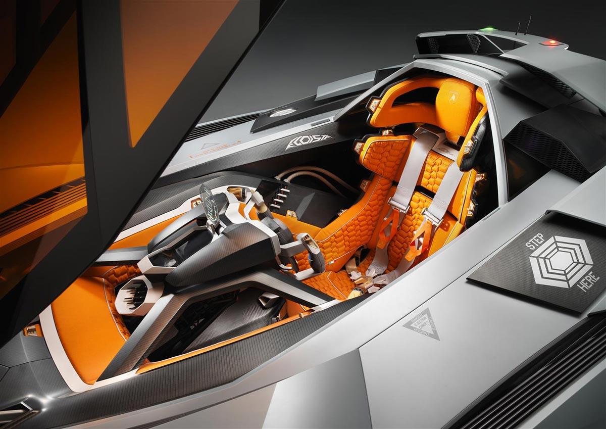 Lamborghini Egoista Concept Car 4