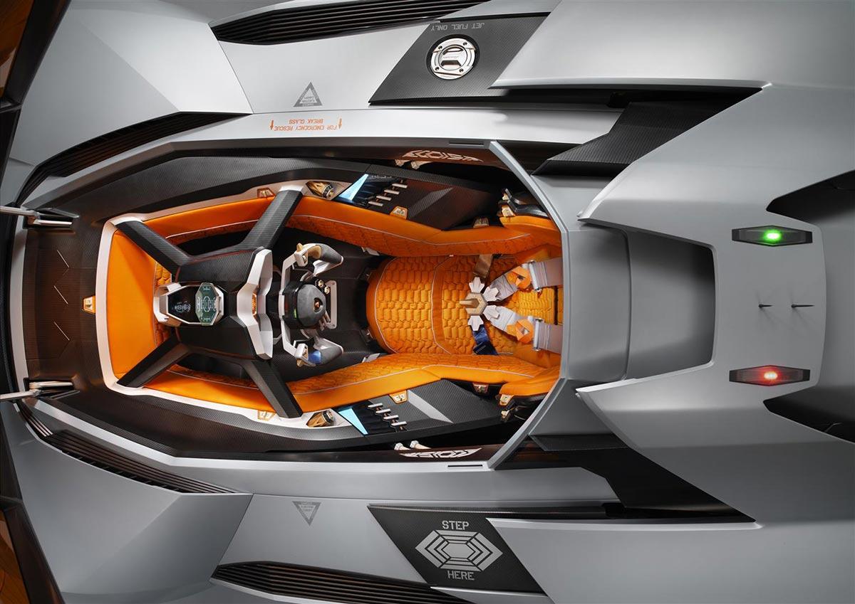 Lamborghini Egoista Concept Car 5