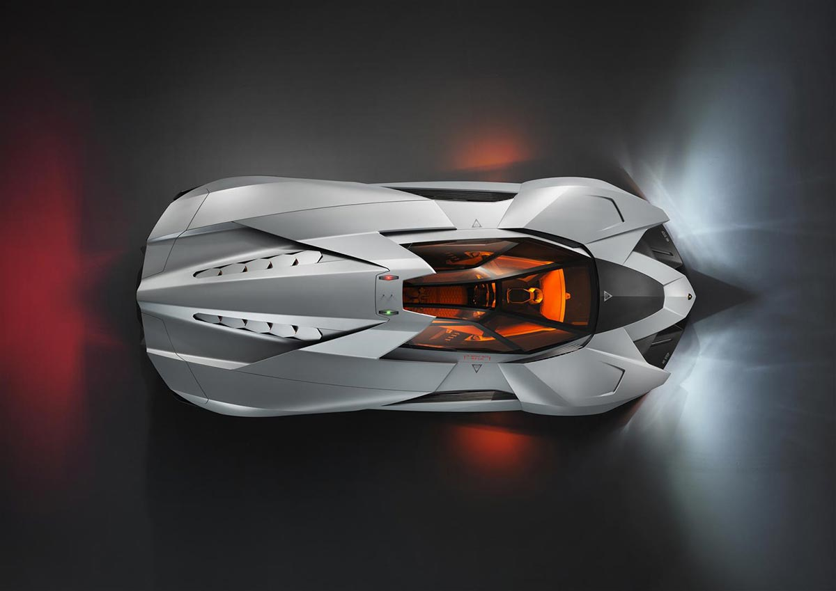 Lamborghini Egoista Concept Car 1