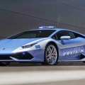 Lamborghini donates Huracán to Italian police