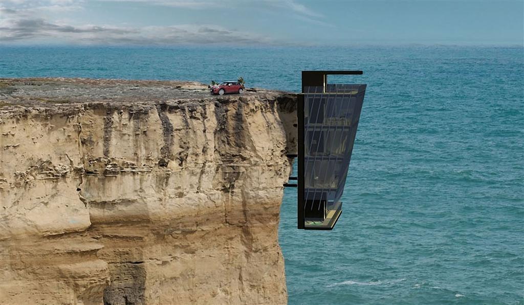 Leben am Abgrund: Das Cliff House by Modscape | MR.GOODLIFE