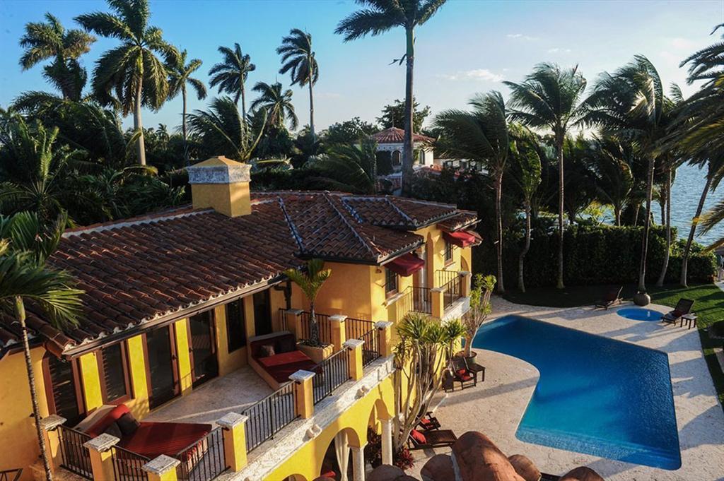 """Luxus Anwesen  """"Villa Jasmine"""" am Ufer von Miami Beach 2"""