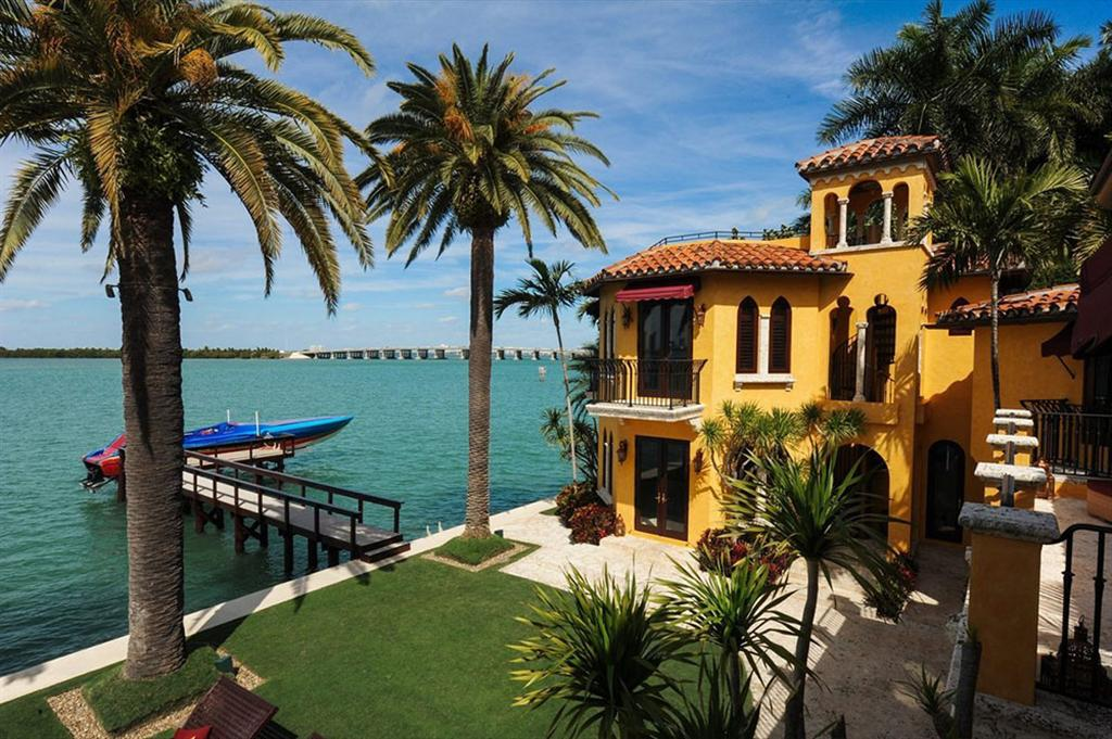 Luxury Waterfront Miami Beach Mansion Villa Jasmine Mr