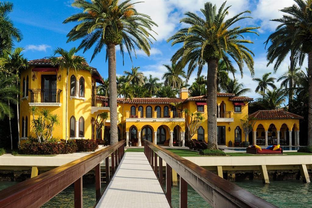 """Luxus Anwesen  """"Villa Jasmine"""" am Ufer von Miami Beach 1"""