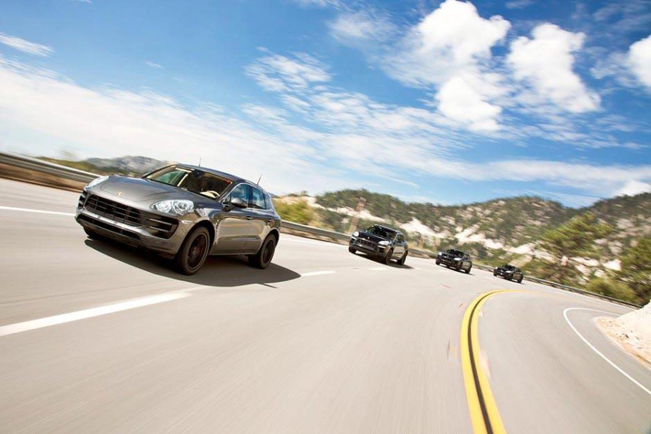 Der brandeue Porsche SUV: Macan 2