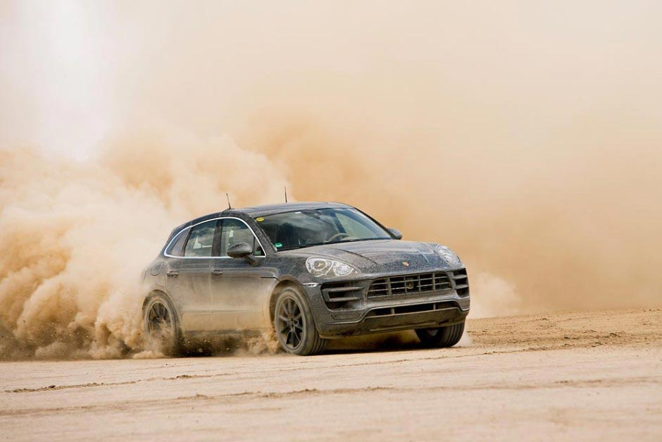Der brandeue Porsche SUV: Macan 10