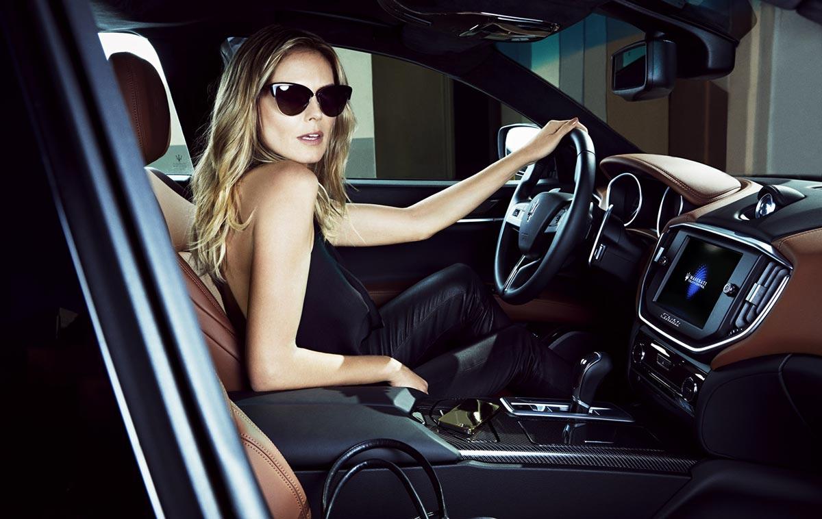 The Maserati Range and Heidi Klum on Sports Illustrated 2