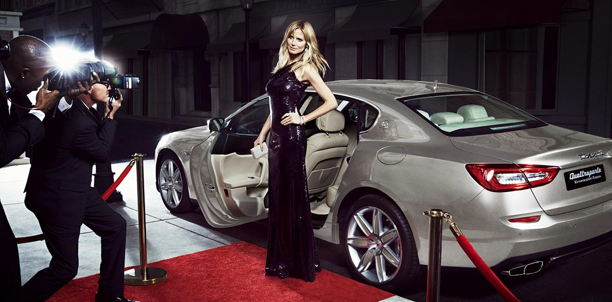 The Maserati Range and Heidi Klum on Sports Illustrated 3