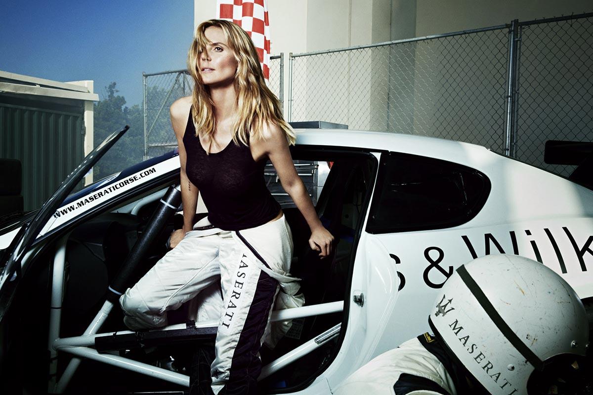 The Maserati Range and Heidi Klum on Sports Illustrated 4