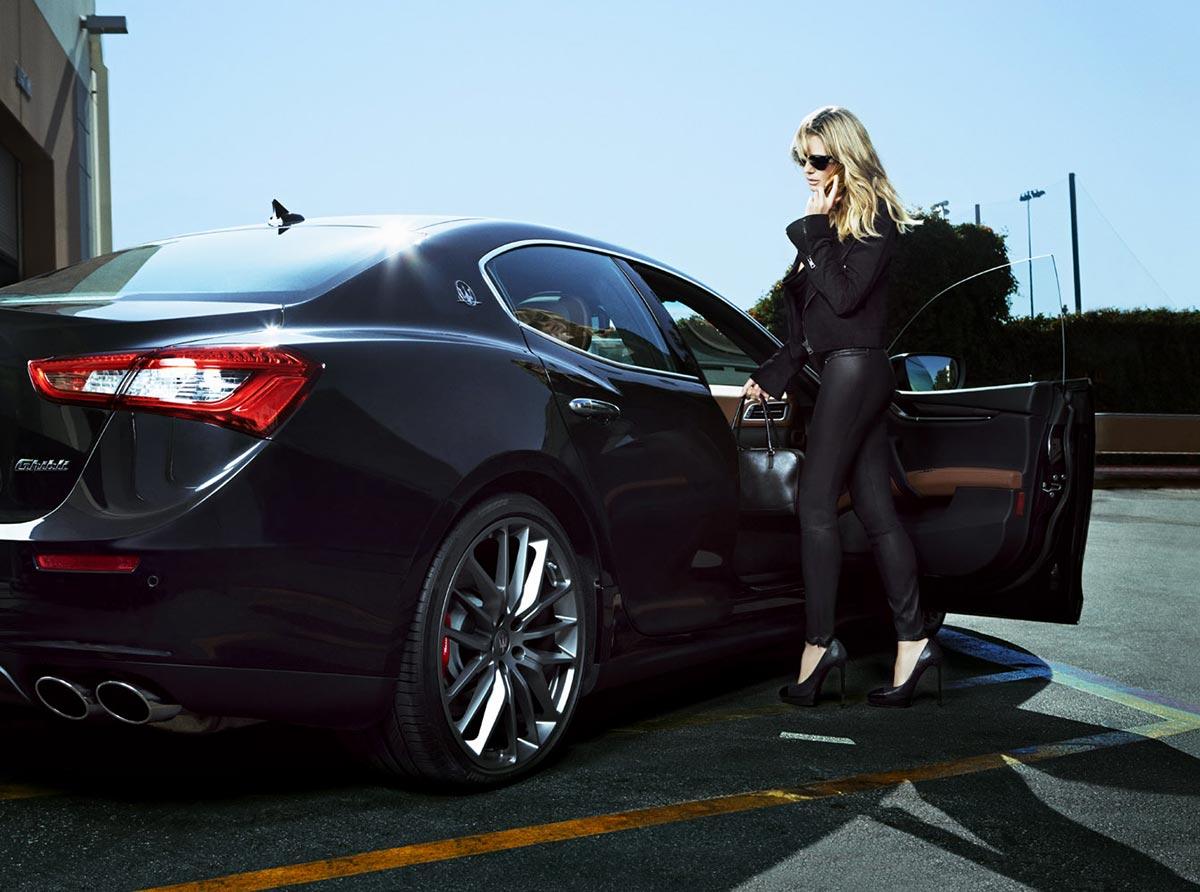 The Maserati Range and Heidi Klum on Sports Illustrated 1